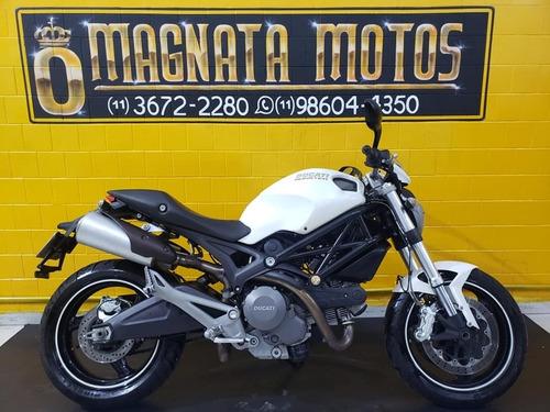 Ducati Monster 696 - Branca - 2012 - Km 37.000