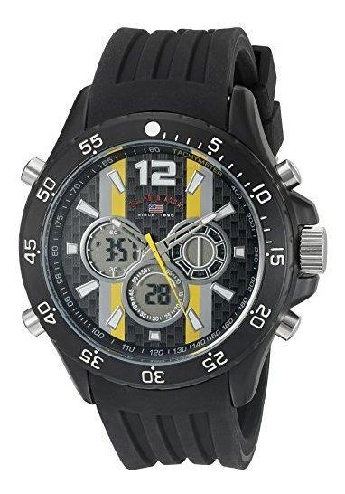 Polo Assn. Sport Us9524 Reloj De Cuarzo Analógico Y Digital