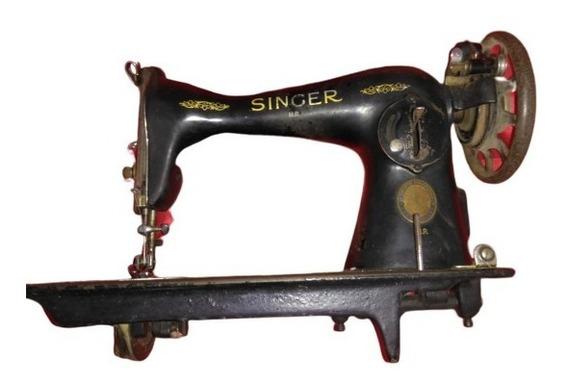 Máquina De Costura Antiga Singer Mr