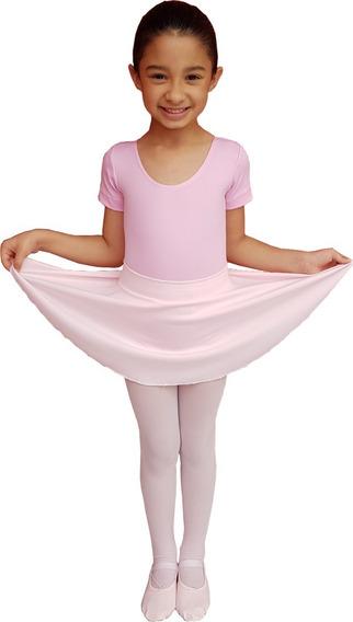 Conjunto Balé Com 5 Peças Roupa Para Bailarinas Rosa