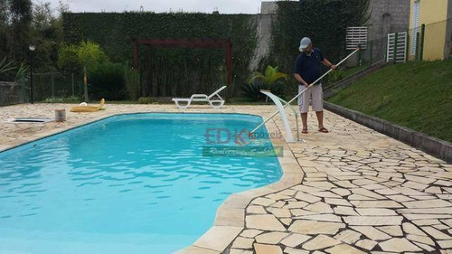 Imagem 1 de 17 de Chácara Com 4 Dormitórios À Venda, 3480 M² Por R$ 1.232.000 - Guamirim - Caçapava/sp - Ch0181