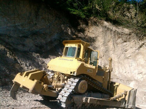 Caterpillar Topador Frontal / Bulldozer D8l Con Ripper, 1982