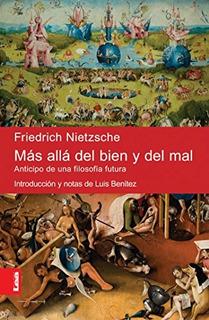 Libro Mas Alla Del Bien Y Del Mal De Friedrich Nietzsche