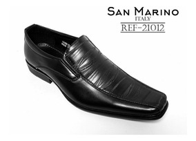 Zapatos Formales San Marino Elegante Hombre Talla 37 + Envió