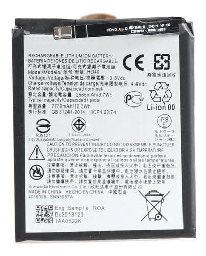 Motorola Moto Z2 Force Batería Generica 3600mha