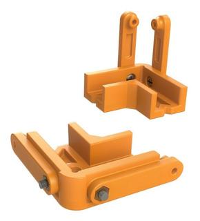 Escuadras Plásticas Para Ensamblado De Muebles 18mm