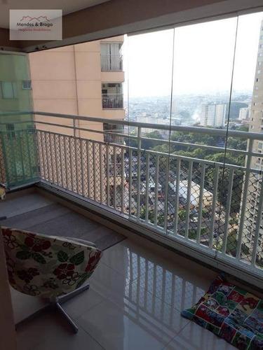 Imagem 1 de 30 de Apartamento À Venda, 92 M² Por R$ 780.000,00 - Vila Augusta - Guarulhos/sp - Ap1351
