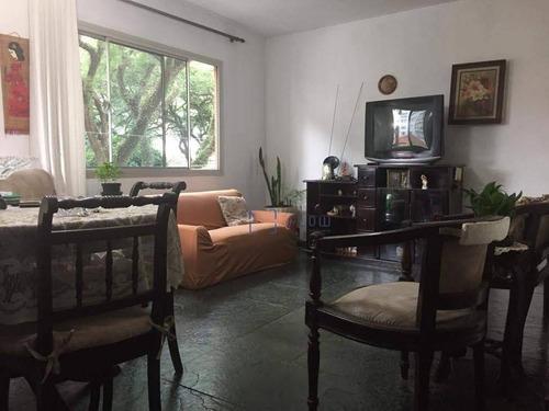 Apartamento Com 3 Dormitórios E 1 Vaga De Garagem - Paraíso. - Ap10079