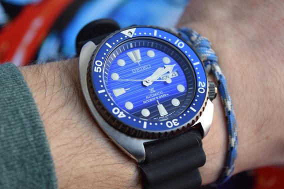 Relógio Seiko Turtle Srpc91 Save The Ocean Automático Diver