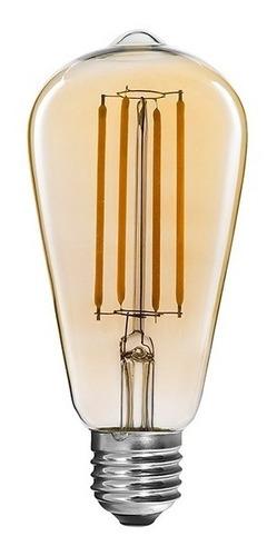 Lámpara Filamento Modelo Pera 40w Vintage Retro Edison