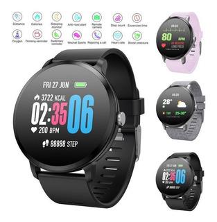 Smart Watch Presión Arterial Monitor De Ritmo Cardíaco Depor