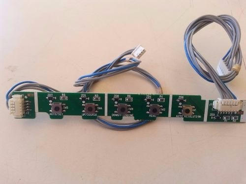 Placa Teclado Monitor Lg/ Positivo L177wss Eax38254902