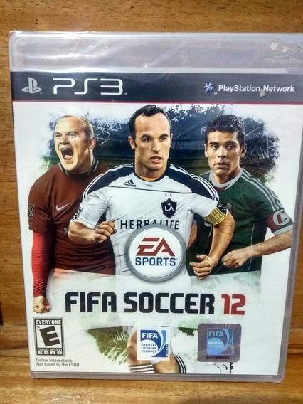 Fifa Soccer 12[ps3 Importado Original Lacrado De Fabrica]