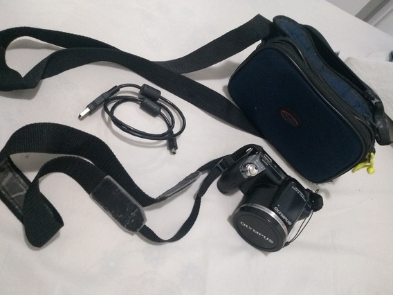 Câmera Semi Profissional Olympus Lens 36x Wide