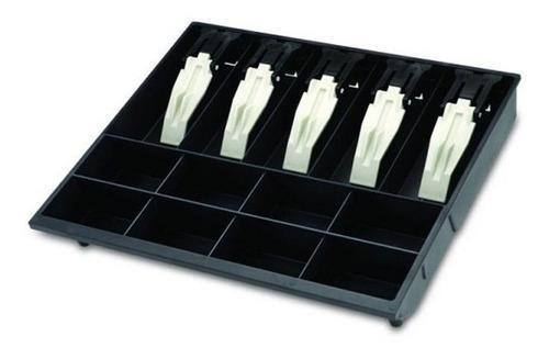 Porta Cédulas/moedas Mg-40 Preto Presilhas De Plástico Menno C/ Frete Grátis
