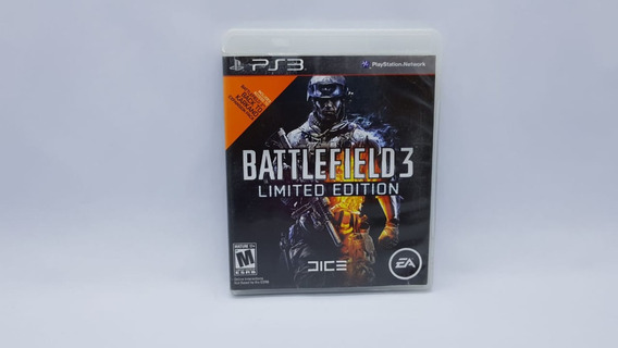 Battlefield 3 - Limited Edition - Ps3 - Mídia Cd Original