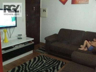 Apartamento Residencial À Venda, Aparecida, Santos. - Ap2931
