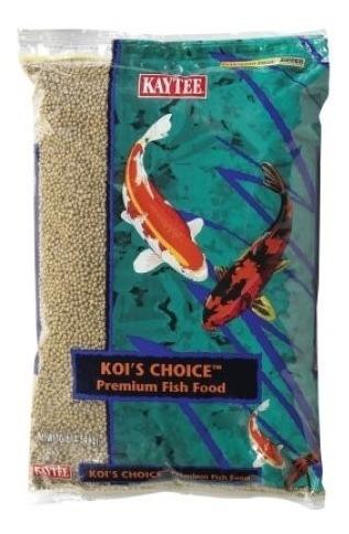 Alimento Granulado Peces Koi Kaytee Americano 4,5 Kg 10 Lb