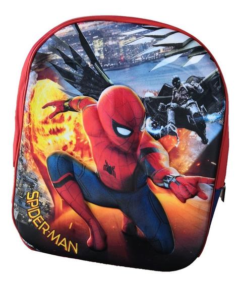 Mochila Spiderman Hombre Araña Jardin 3d V. Crespo