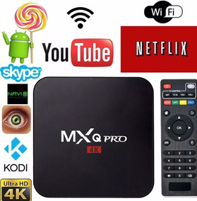 Tv Box 4k C/ Cabo Hdmi Netflix Android.