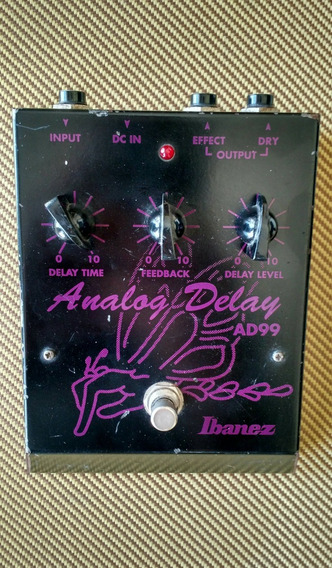 Ibanez Analog Delay Ad99 Made In Japan