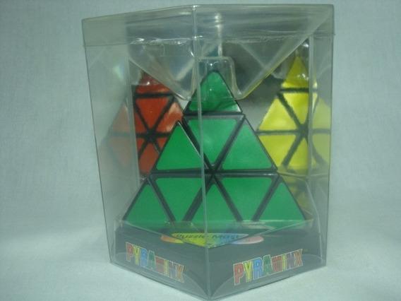 Jogo / Puzzle Pyraminx (baseado No Cubo De Mágico De Rubik)