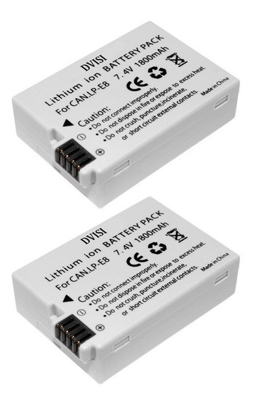 Bateria Para Canon 550d 600d 700d T2i T3i T4i T5i Compativel