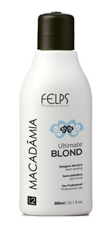 Progressiva Macadâmia Ultimate Blond 300ml + Sh Antiresiduos