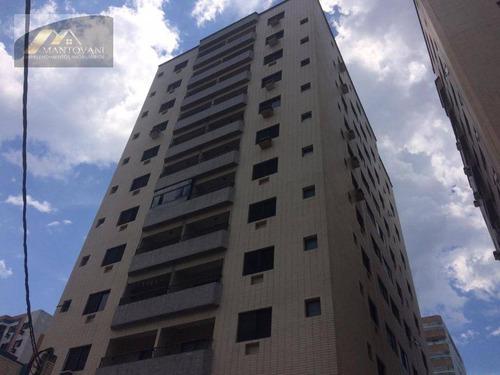 Apartamento Com 2 Dormitórios À Venda, 79 M² Por R$ 320.000 - Tupi - Praia Grande/sp - Ap2492