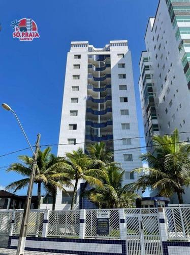 Apartamento Com 2 Dormitórios À Venda, 80 M² Por R$ 250.000 - Vila Atlântica - Mongaguá/sp - Ap2938