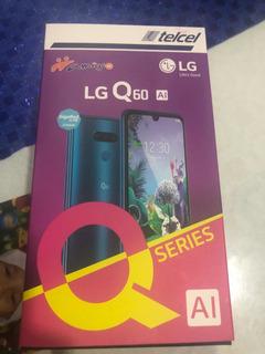 Celular Lg Q60 Ai 64gb, 3 Cámaras Traseras