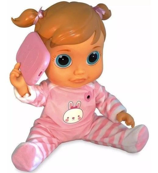 Boneca Babywow Analu Interativa Aprende 150 Frases Multikids
