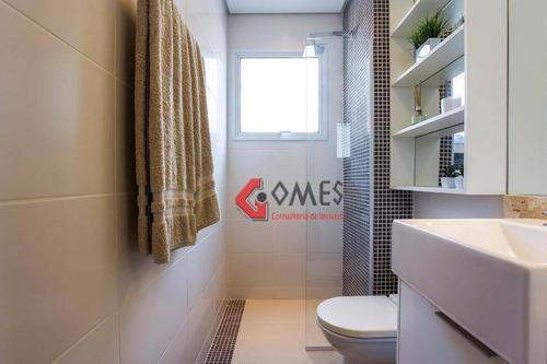 Apartamento Com 2 Dormitórios À Venda, 55 M² Por R$ 311.200,00 - Baeta Neves - São Bernardo Do Campo/sp - Ap0971