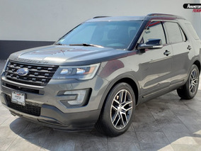 Ford Explorer Sport Gris Oxford 2017