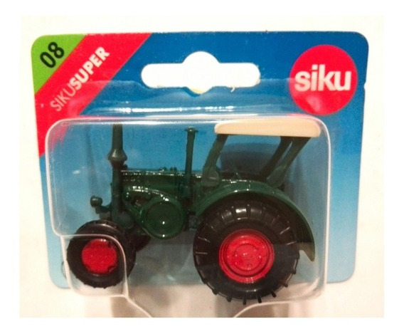 Tractor Antiguo Lanz Bulldog - Siku Super 08 - 1/64