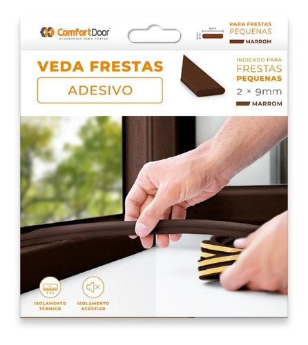 Veda Frestas Portas 2mm Comfort Door Com Isolamento Termico