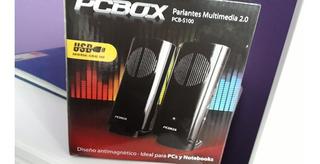 Parlantes Pc Box Pcb S 100 Con Usb