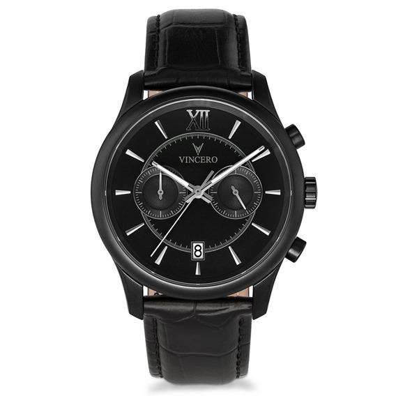Reloj Vincero Luxury Bellwether Negro Hombre Bla-bla-w09