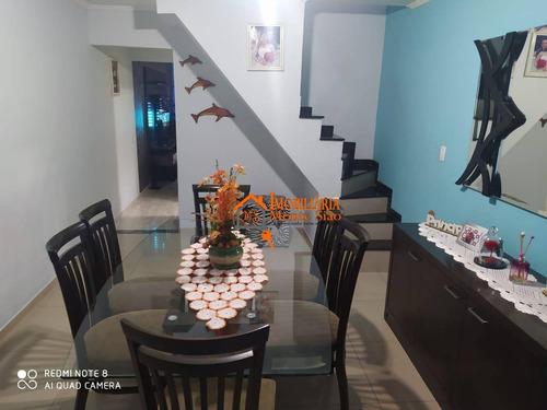 Sobrado Com 3 Dormitórios À Venda, 169 M² Por R$ 470.000,00 - Jardim Adriana - Guarulhos/sp - So0561