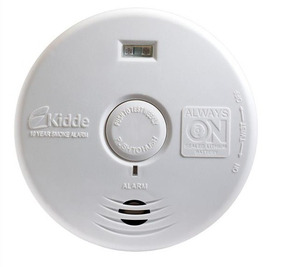 Detector De Fumaça P/ Escada Corredor Luz De Segurança Kidde