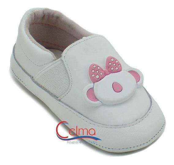 10110553 Tênis Bebê Lilica Ripilica Couro Feminino