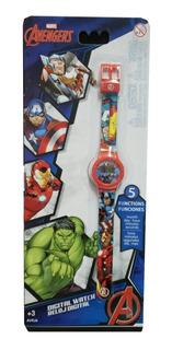 Reloj Digital Avengers Marvel Avrj6