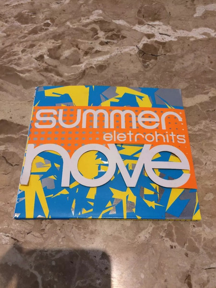 Cd Summer Eletrohits Nove 9 - Muito Novo, Original!!
