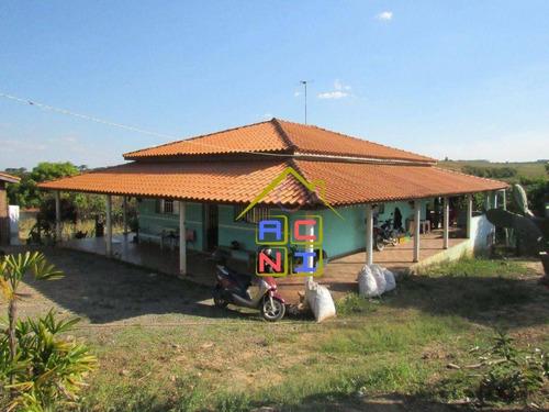 Imagem 1 de 20 de Chácara Com 3 Dormitórios À Venda, 10000 M² Por R$ 550.000,00 - Recanto Feliz - Monte Mor/sp - Ch0025