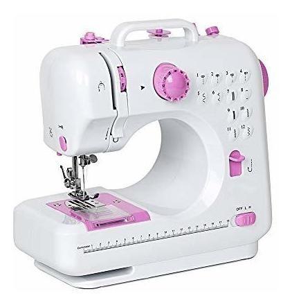 Máquina De Coser Nex Para Niños Con 12 Costuras Integradas.
