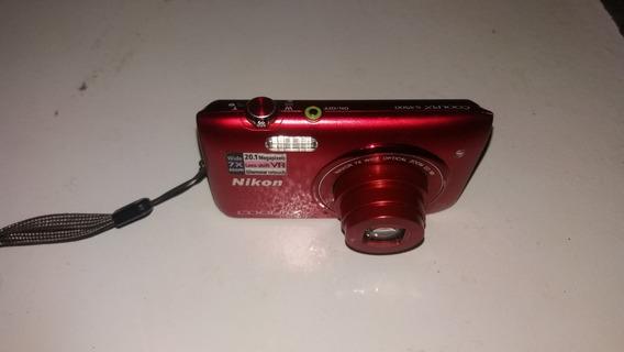 Máquina Fotográfica Digital Nikon Compacta Coolpix S3300