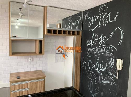 Imagem 1 de 13 de Apartamento Com 2 Dormitórios À Venda, 41 M² Por R$ 230.000,00 - Jardim Ansalca - Guarulhos/sp - Ap2562