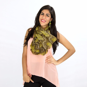 Pashminas De Colores Modelo Viper Rose Fashion
