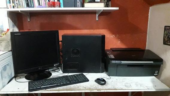 Computador Completo Com Impressora