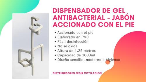 Dispensador De Gel Antibacterial - Accionado Con El Pie